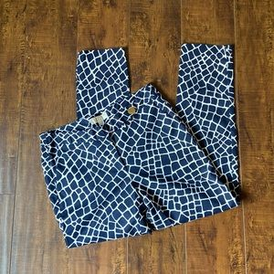 Michael Kors dress pants in navy and white size 6